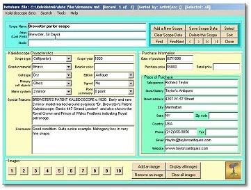 Kaleidotrak - Kaleidoscope Database Software